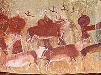 Bushman-rock-art